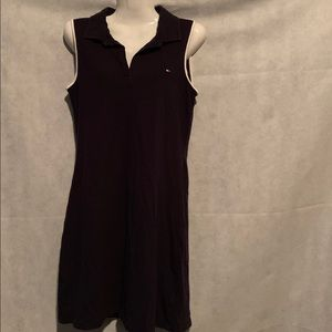 Tommy Hilfiger sleeveless dark blue dress size M